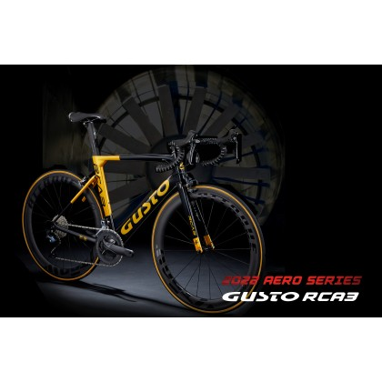 Gusto 2022 GB RCA3 PRO UTLRA-SP 45C Clincher ( UCI APPROVED ) AERO BIKE